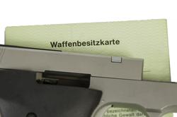 Waffenbesitzkarte Waffenrecht
