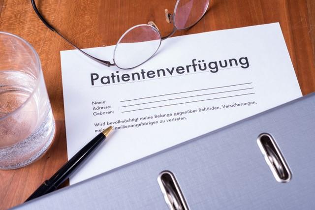 Patientenverfügung; Vorsorgevollmacht; Betreuungserfügung; medizinische Versorgung; Begleitung; Vollmacht