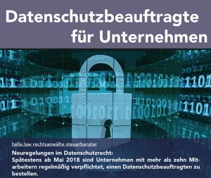 Datenschutzbeauftragter, Datenschutz, Flyer