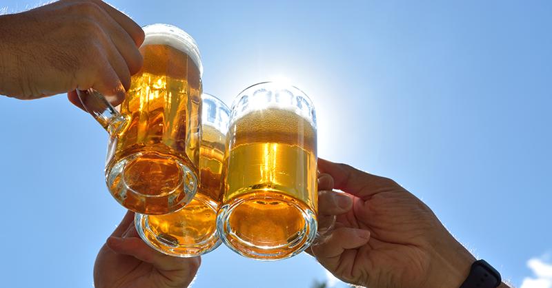 Bierwerbung, Bier, bekömmlich, Werbung, unlautere Werbung, Wettbewerbsrecht, Brauerei